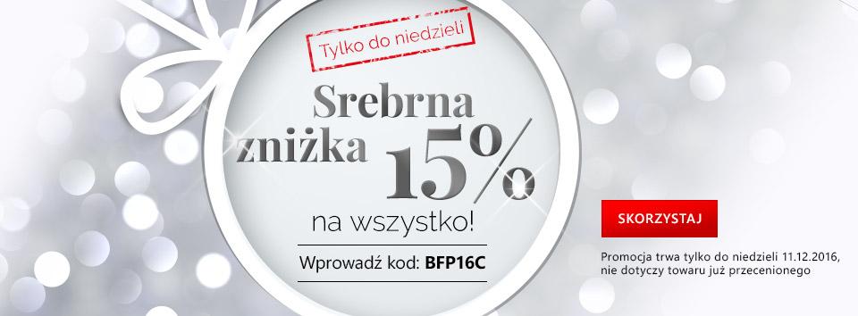 Stříbrná sleva 15 %