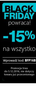 Black Friday 15 %