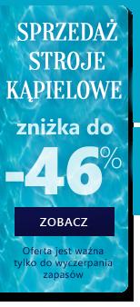 plavky 46 % - výprodej
