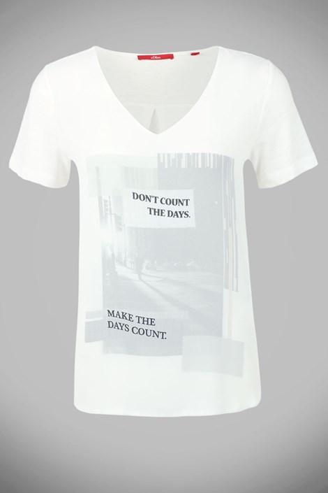 Damska bluzka z nadrukiem V1 s.Oliver