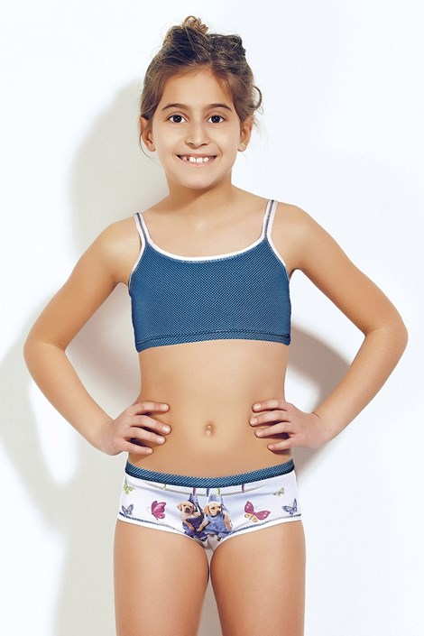 Dziewczęcy komplet: Top i figi 377