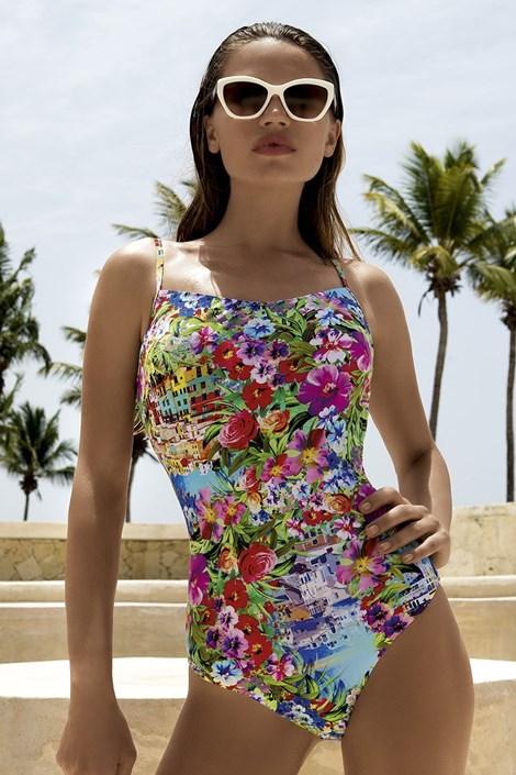 Luksusowy jednoczęściowy kostium kąpielowy City z fiszbinami