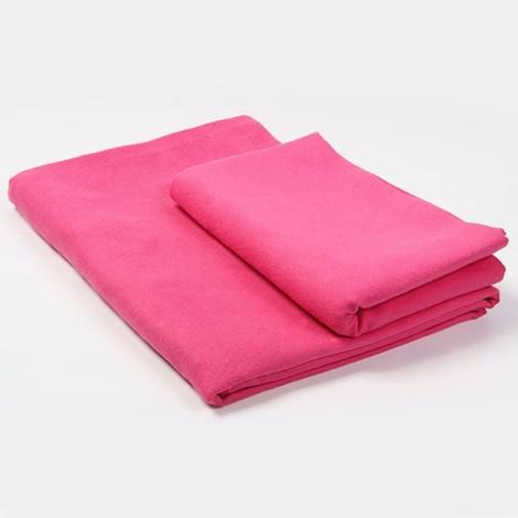 Komplet dwóch ręczników funkcyjnych - różowych