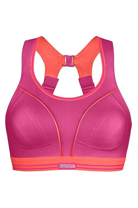 Biustonosz sportowy Shock Absorber S5044 Pink