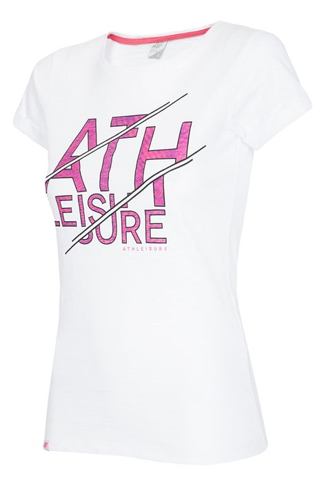 Damski T-shirt sportowy Leisure