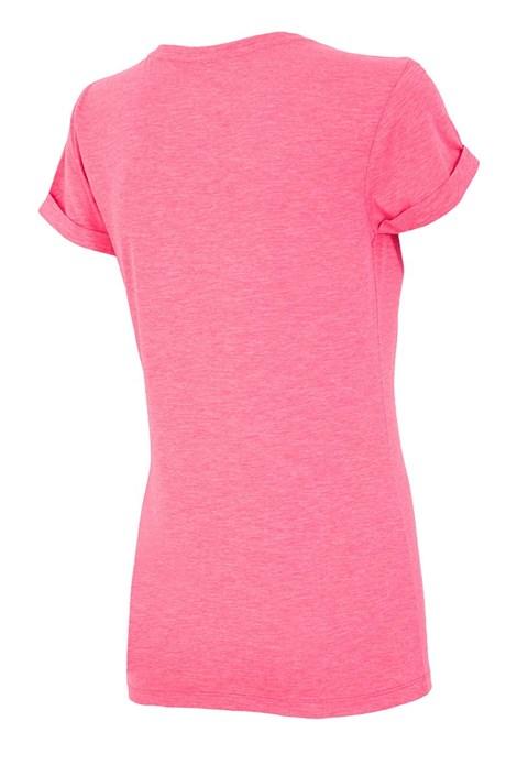 Damski T-shirt sportowy Summer Pink