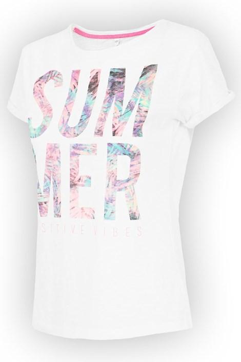 Damski T-shirt sportowy Summer