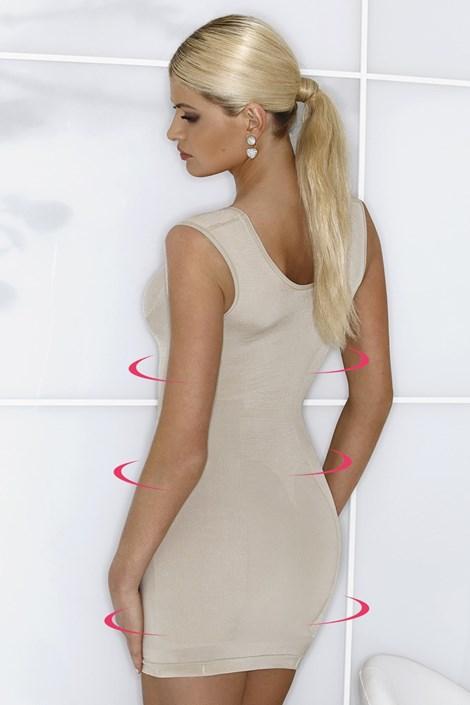 Mid-Wyszczplająca sukienka-szerokie ramiączka-6 720-MicroClima