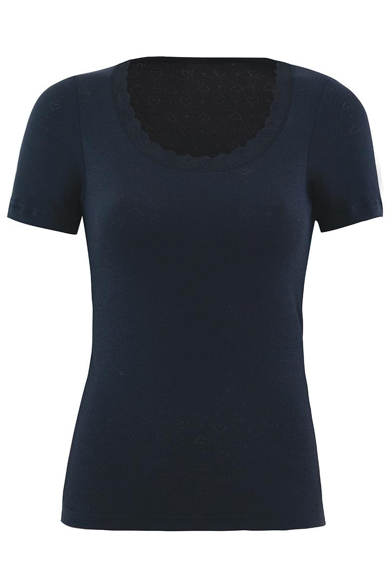 Damska koszulka funkcjonalna z krótkim rękawkiem - 1267TSS_tri
