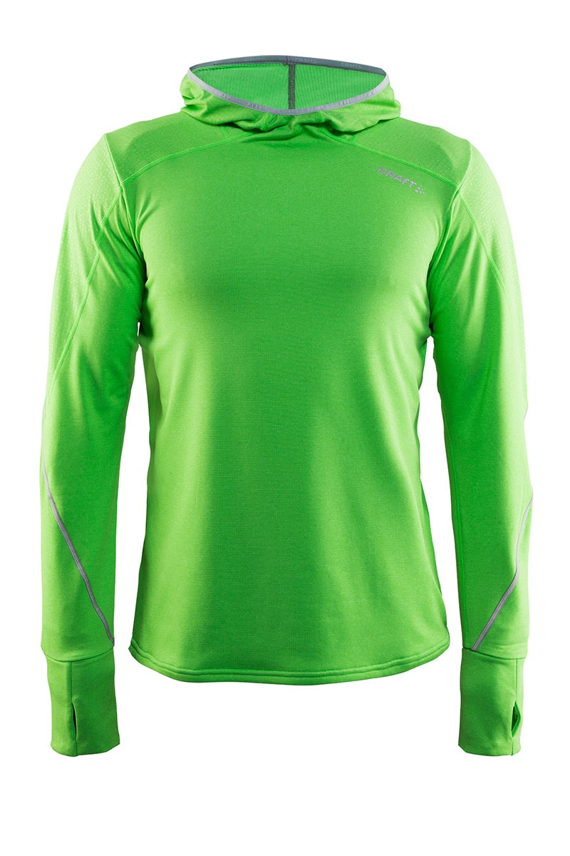 Męska funkcyjna bluza sportowa CRAFT Mind Hood zielona - 1904336_2620