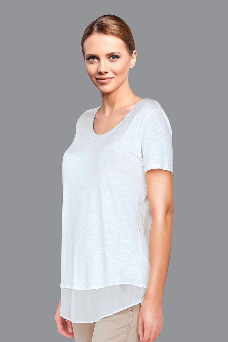 Damski t-shirt Belen White - 4553V2_tri