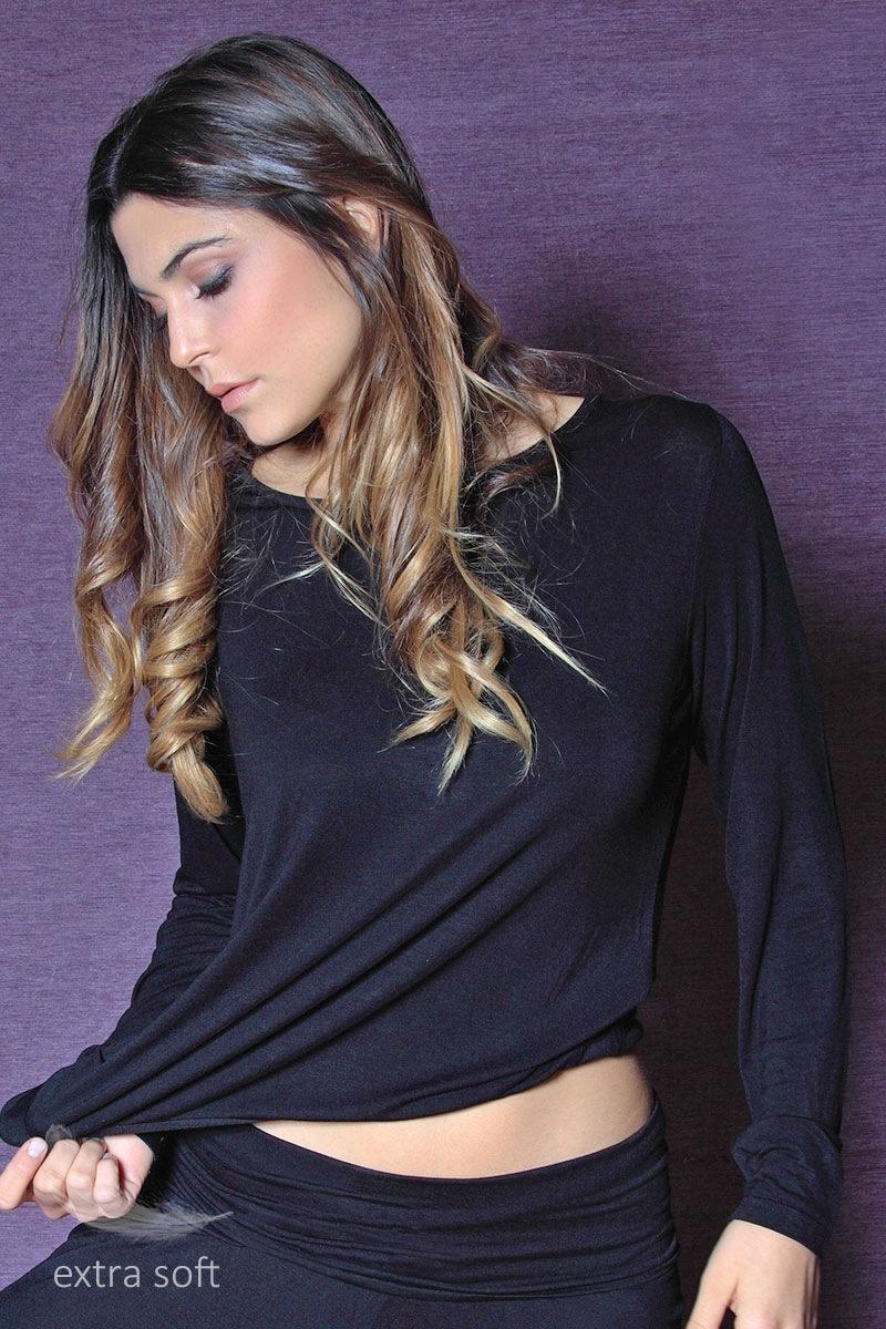 Damska bluzka z wiskozy Fashion - 59002_tri