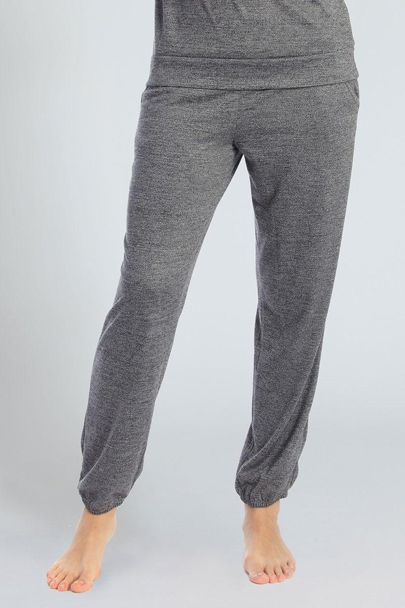 Damskie spodnie dresowe Grey - 59130_kalh
