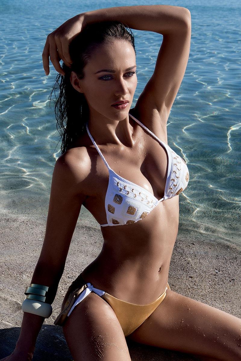 Biustonosz od luksusowego kostiumu kąpielowego Gold bez fiszbinów - 6310VH
