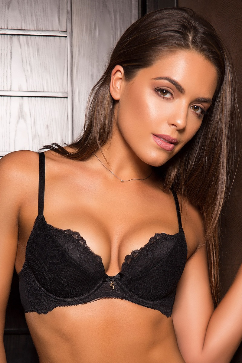 Biustonosz Gossard Super Push-Up - 7711SuperboostBLK