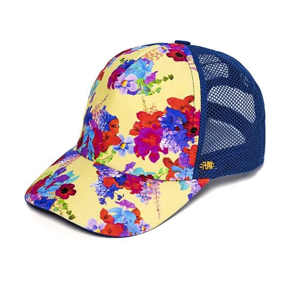 Damska czapka z daszkiem Flowers z kolekcji Phax - AF410002