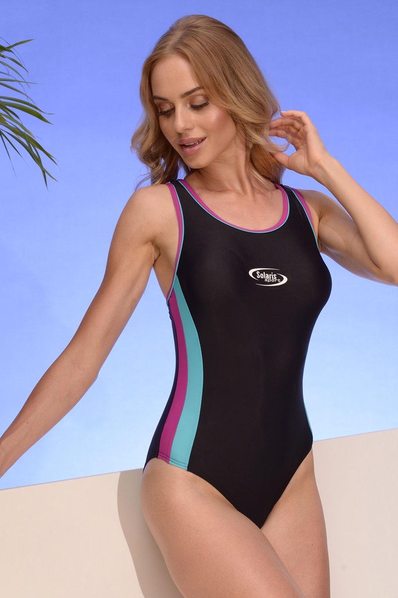 Jednoczęściowy sportowy kostium kąpielowy Alex 04 - AlexMartinica