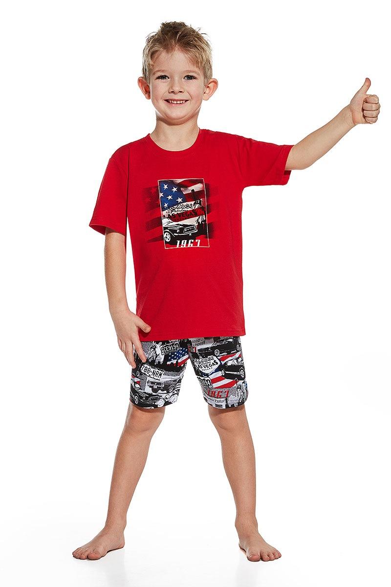 Chłopięca piżama America - America79053_pyz