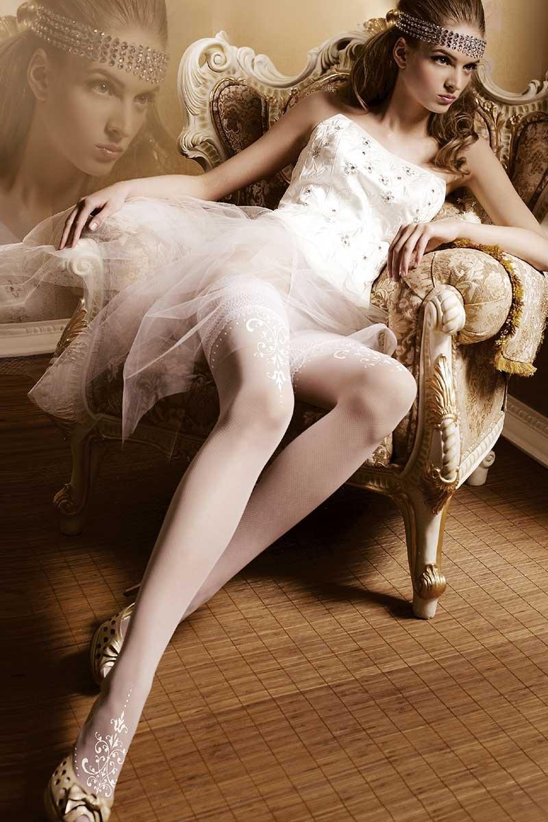 Luksusowe pończochy samonośne Amous 007 - Amouss007_pun