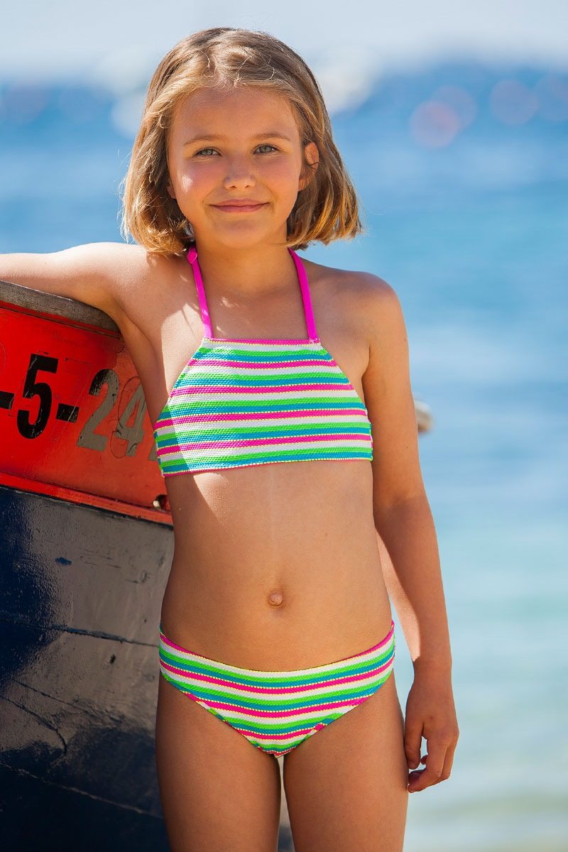 Dziewczęcy kostium kąpielowy Atria 2 - Atria22