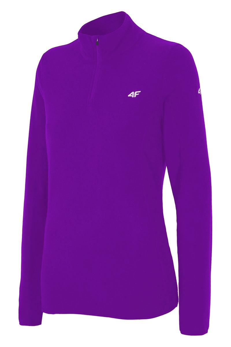 Damska sportowa bluza polarowa Violet - BIDP001Violet_mik