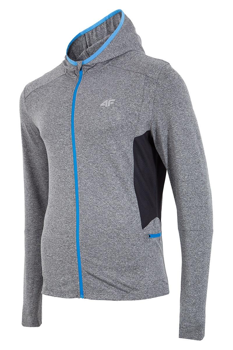 Męska bluza sportowa 4F Dry Control Grey
