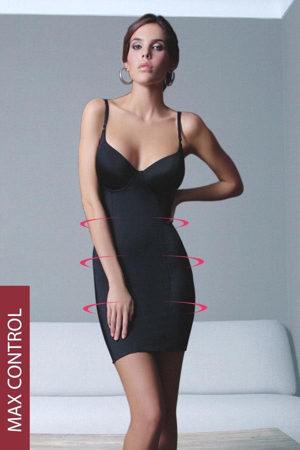 High - uciskowa sukienka - Basiccontrol36968