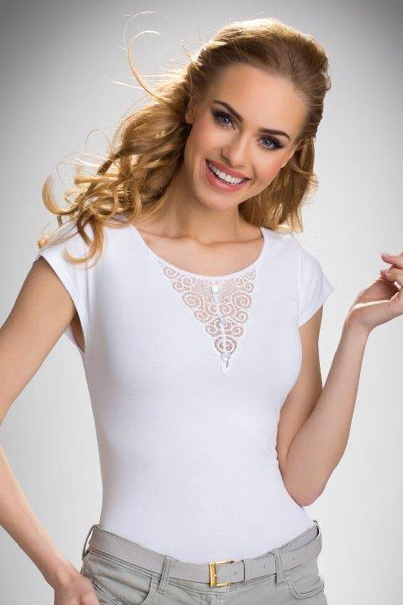 Damska bluzka z krótkimi rękawami Bela - Bela_tri