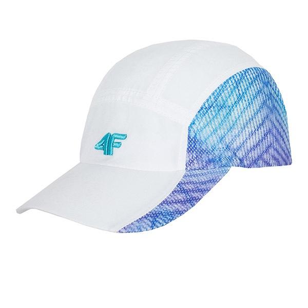 Damska bejsbolówka 4F White - CAD002_cep