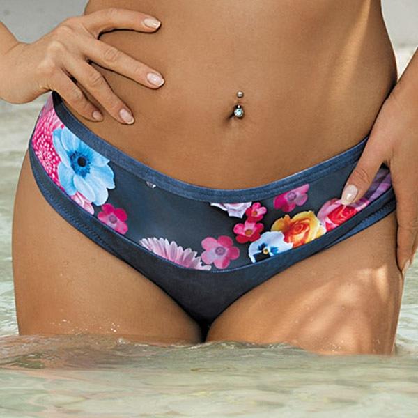 Figi od dwuczęściowego kostiumu kąpielowego Dianna - CD11W_205_kal