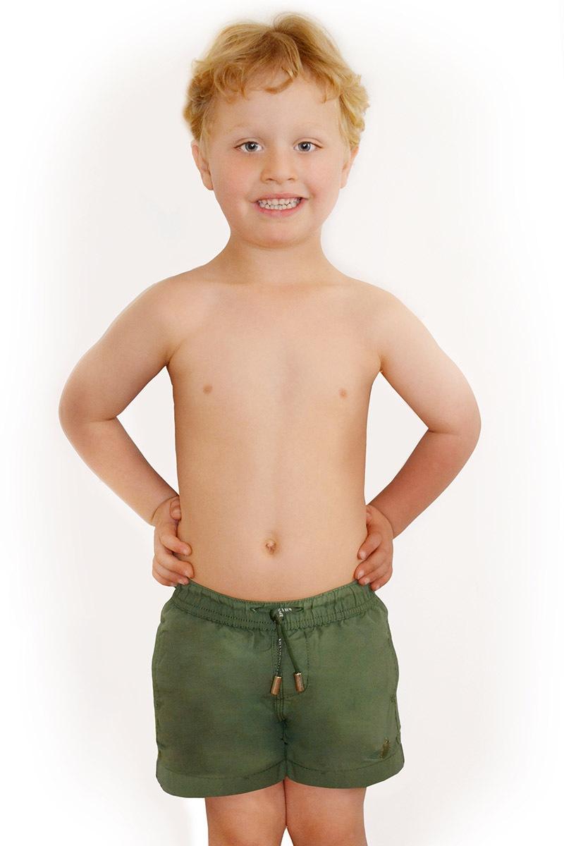 Chłopięce szorty kąpielowe Leonard Salvia - D16958Salvia