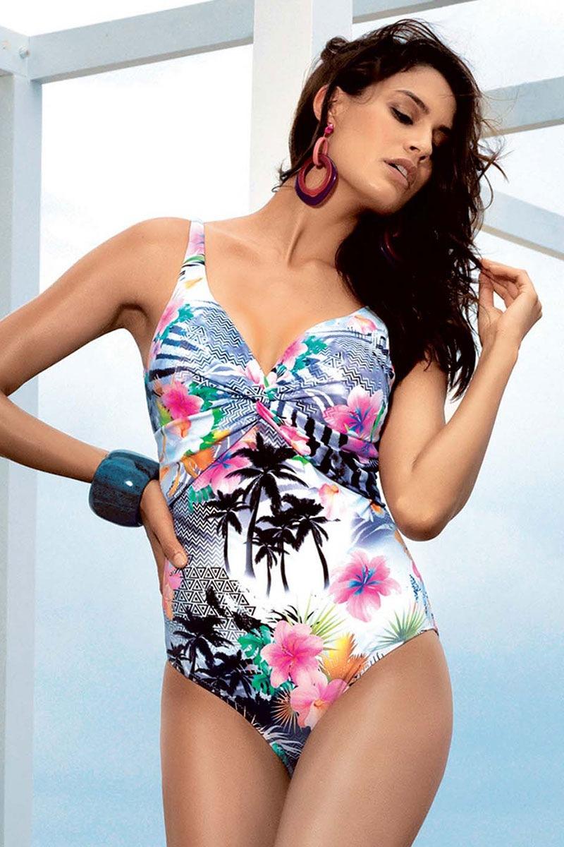 Damski jednoczęściowy kostium kąpielowy Irma II. - DA7026