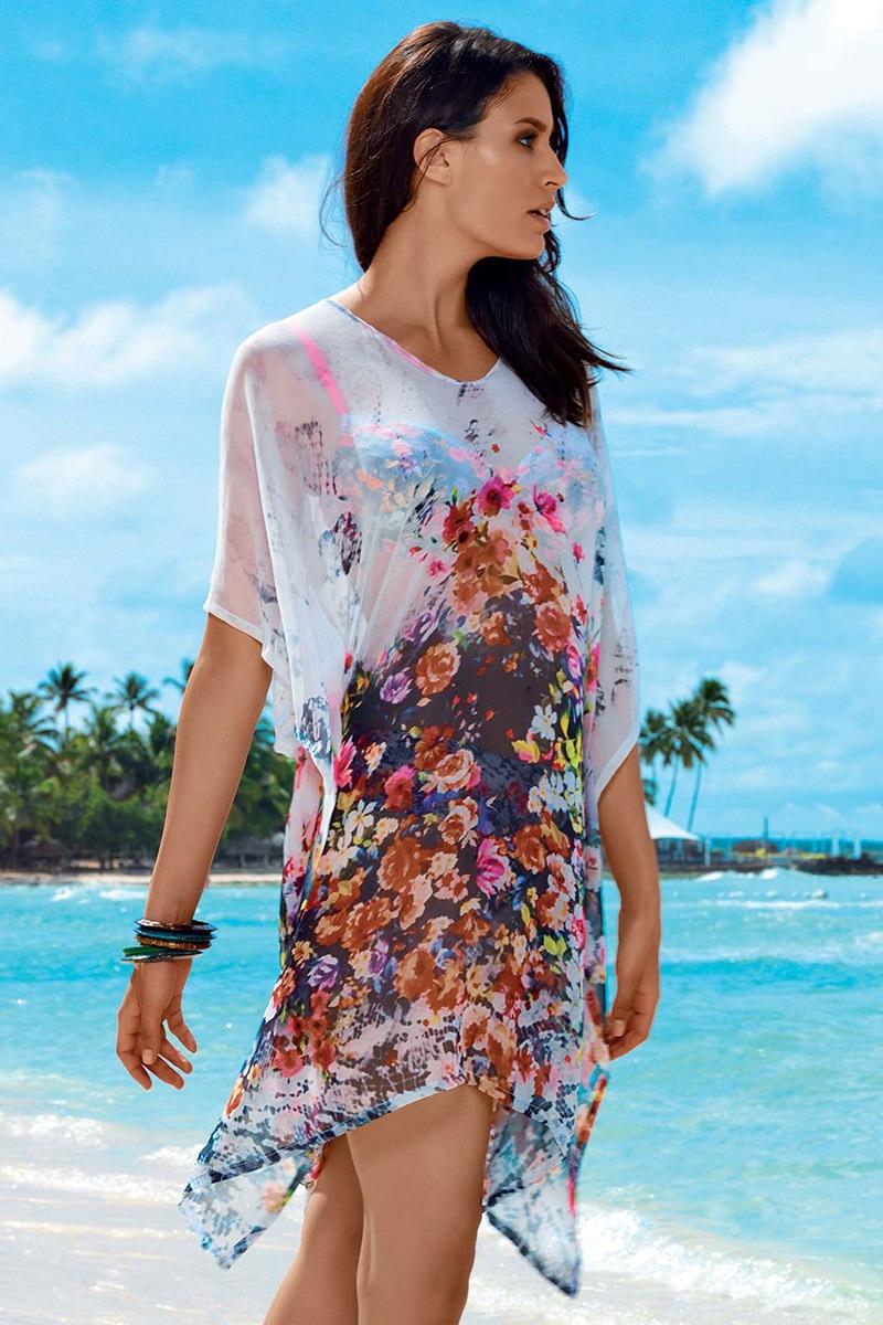Letnia sukienka plażowa Tarja z kolekcji David Mare - DA7039_sat