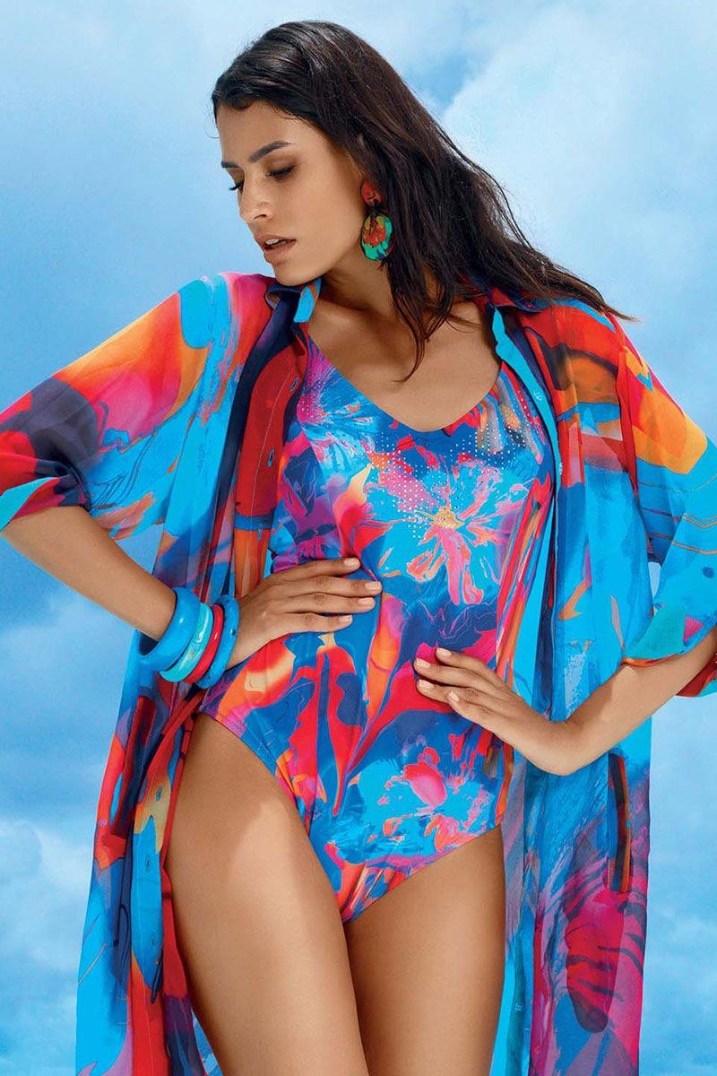 Jednoczęściowy damski kostium kąpielowy Iona - DA7068