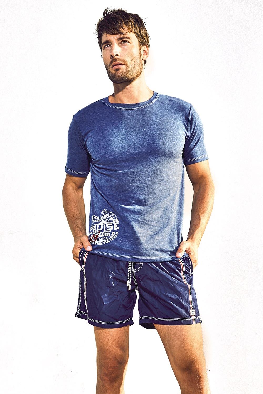 Luksusowy T-shirt męski Kase - DM7027_tri
