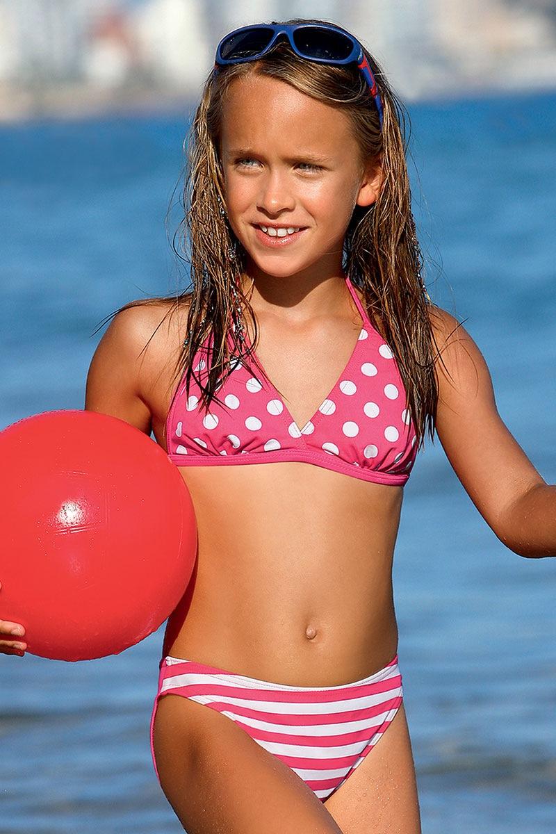 Dziewczęcy kostium kąpielowy Dot DP2 - DP2