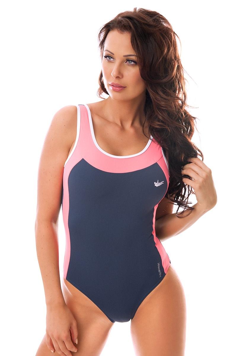 Damski sportowy kostium kąpielowy włoskiej produkcji Bettye - DW6013