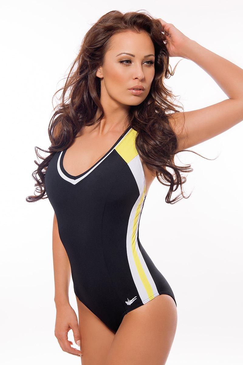 Damski włoski sportowy kostium kąpielowy Sharon - DW6014