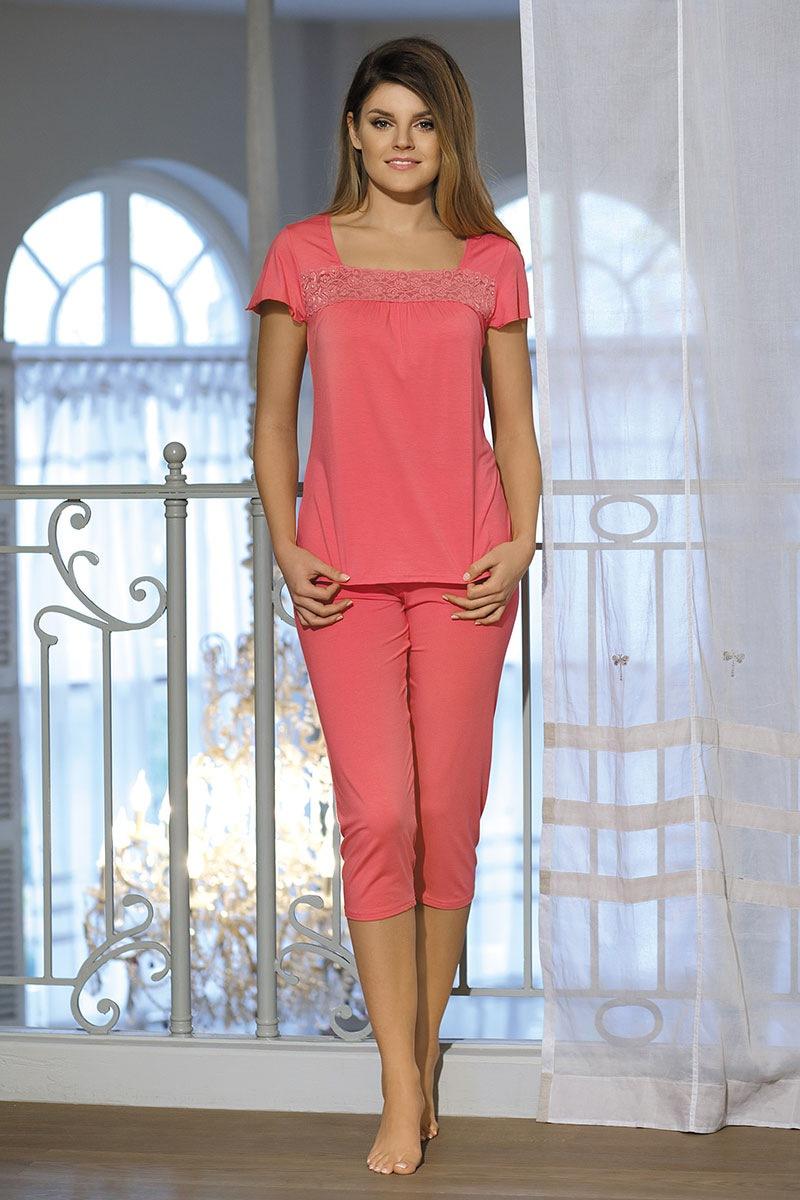 Damska piżama Delfina Coral - DelfinaCoral_pyz