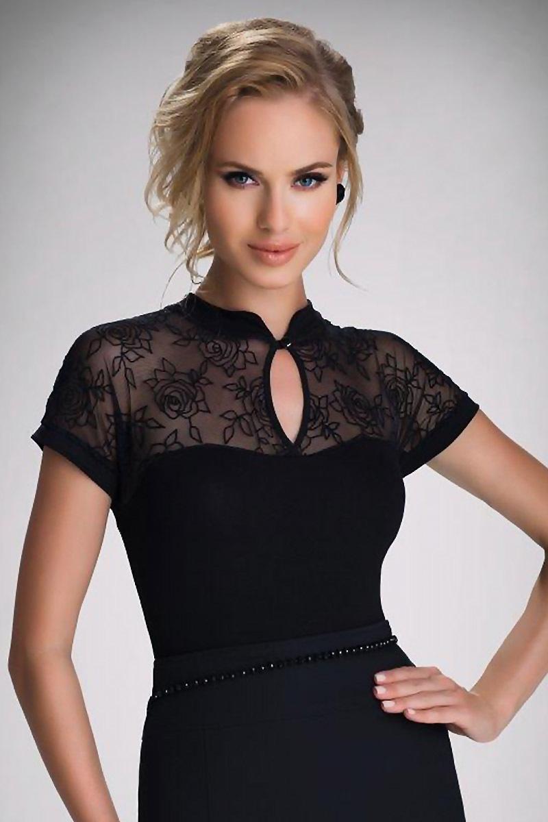 Elegancka damska bluzka Doris - Doris_tri
