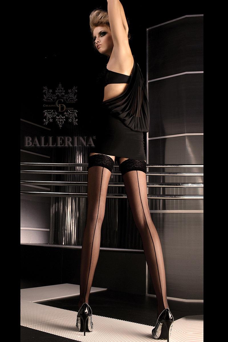 Luksusowe pończochy samonośne 049 - EL049_pun