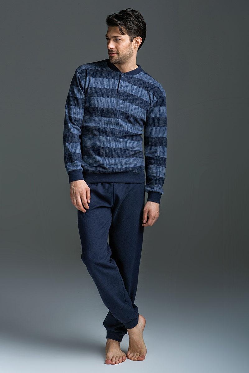 Komplet męski Matteo - bluza i spodnie - EP5016AW16Blu_set