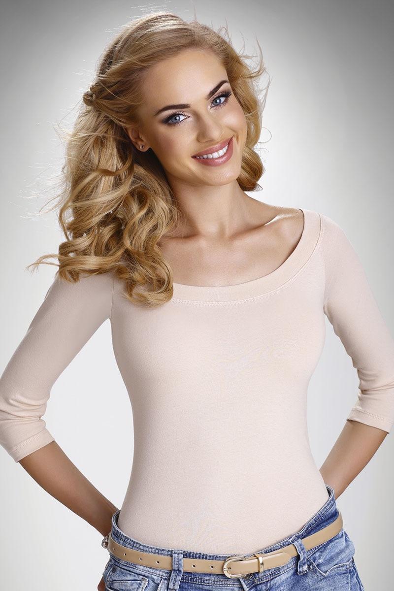 Damska bluzka z krótkimi rękawami Eleni - Eleni_tri