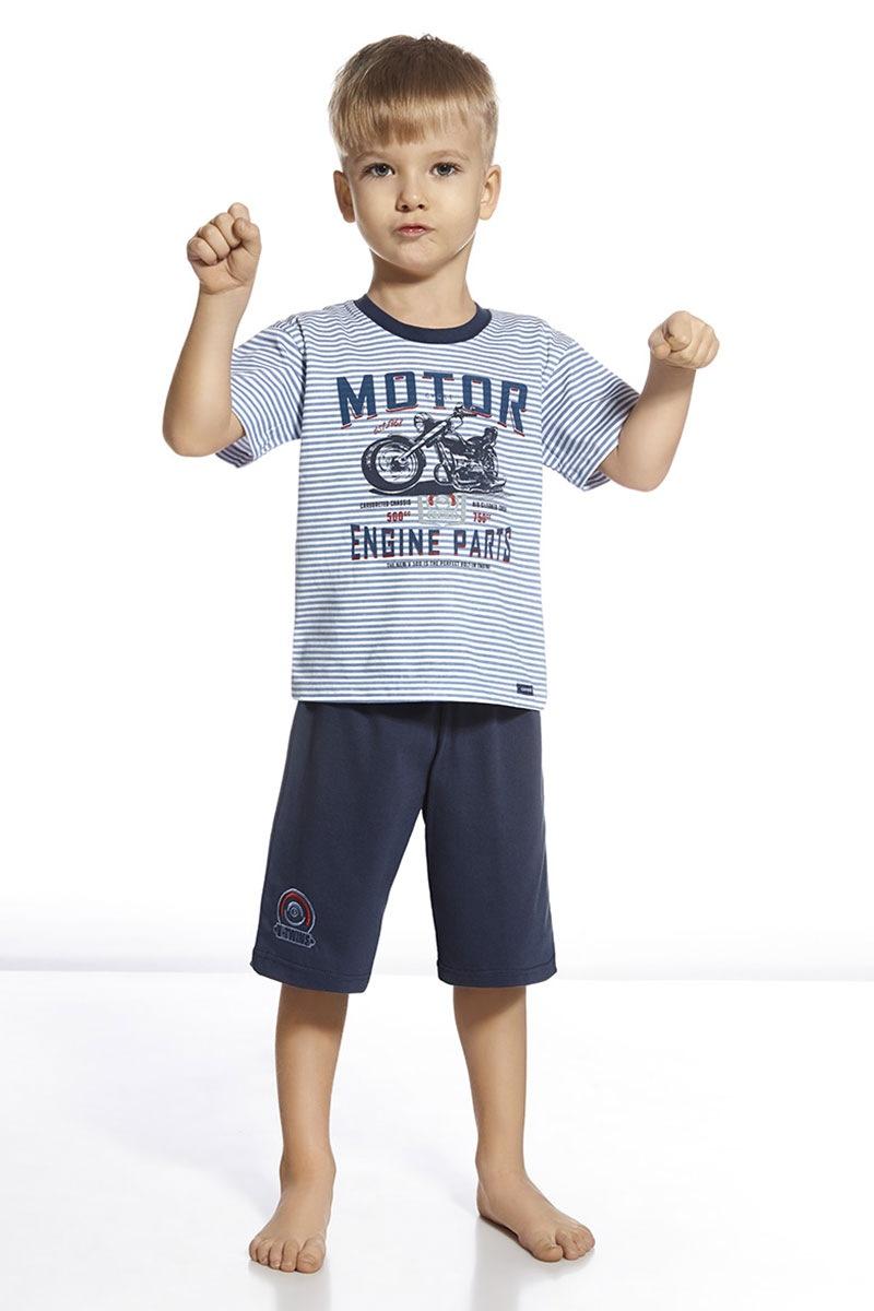 Chłopięca piżama Motor - Engie80147_pyz