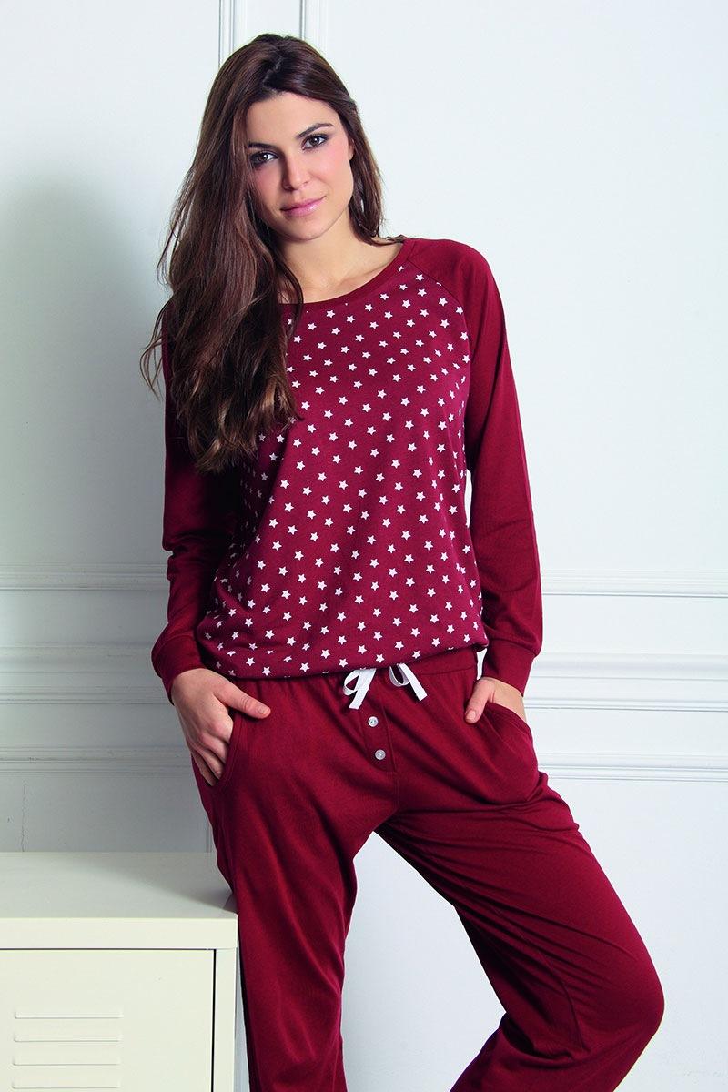 Damskie spodnie domowe Fashion z modalem - Fashion59141_kalh