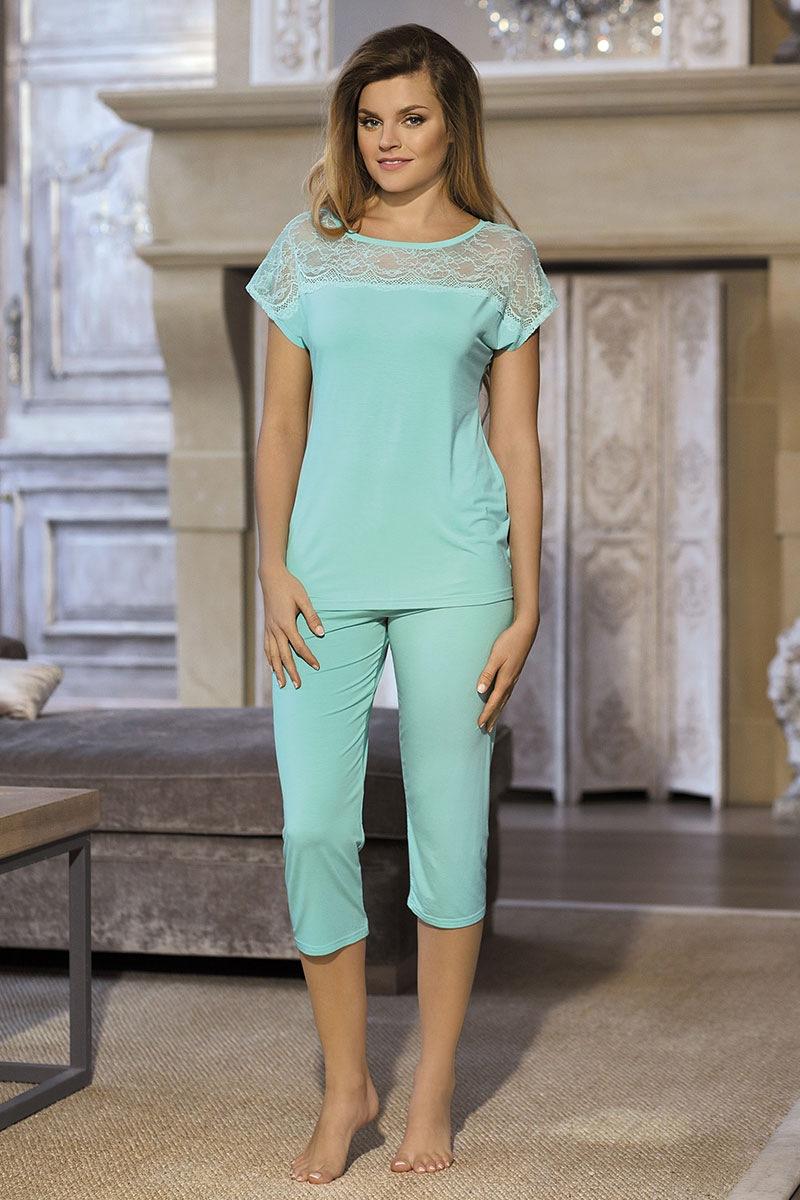 Damska piżama Fiorella - FiorellaMint_pyz