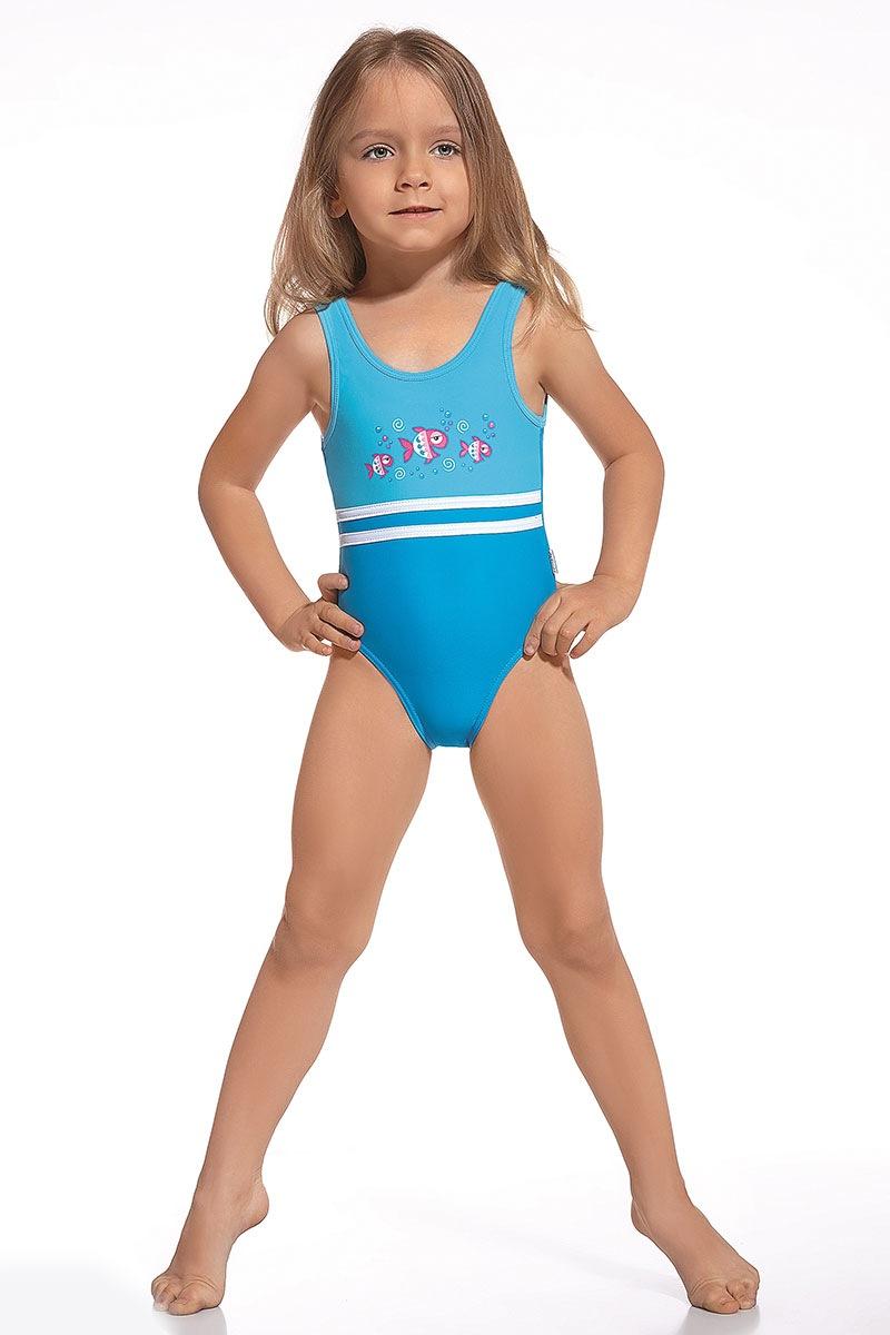 Dziewczęcy kostium kąpielowy Fish - Fish