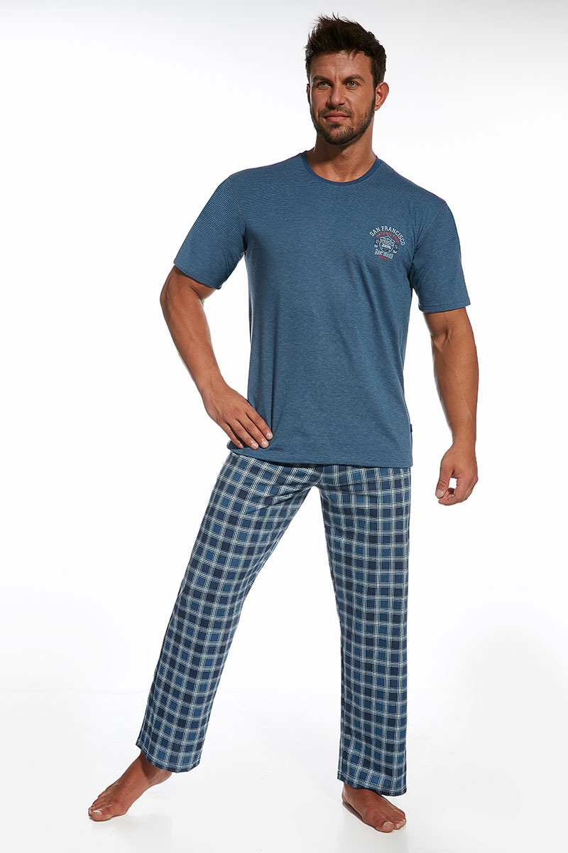 Męska piżama z bawełny Forest - Forest313470_pyz