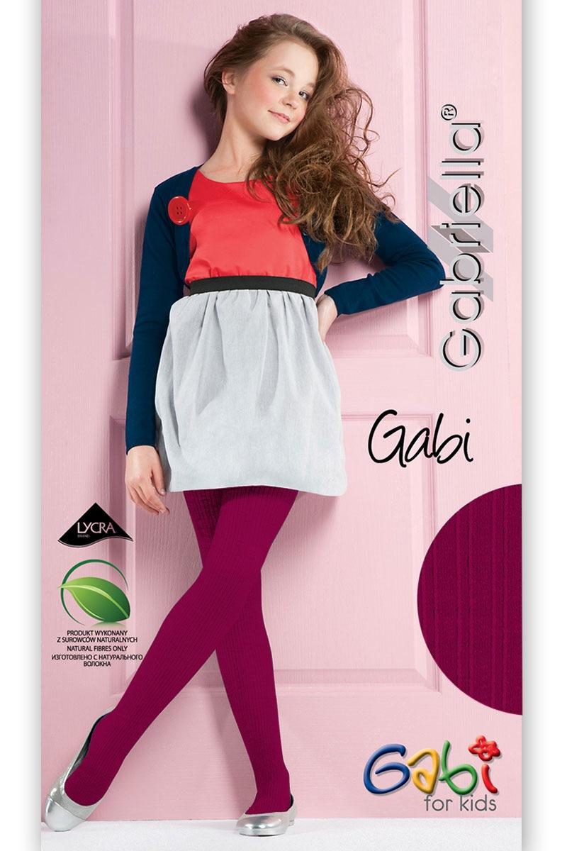 Dziewczęce rajstopy Gabi - Gabi754_pun