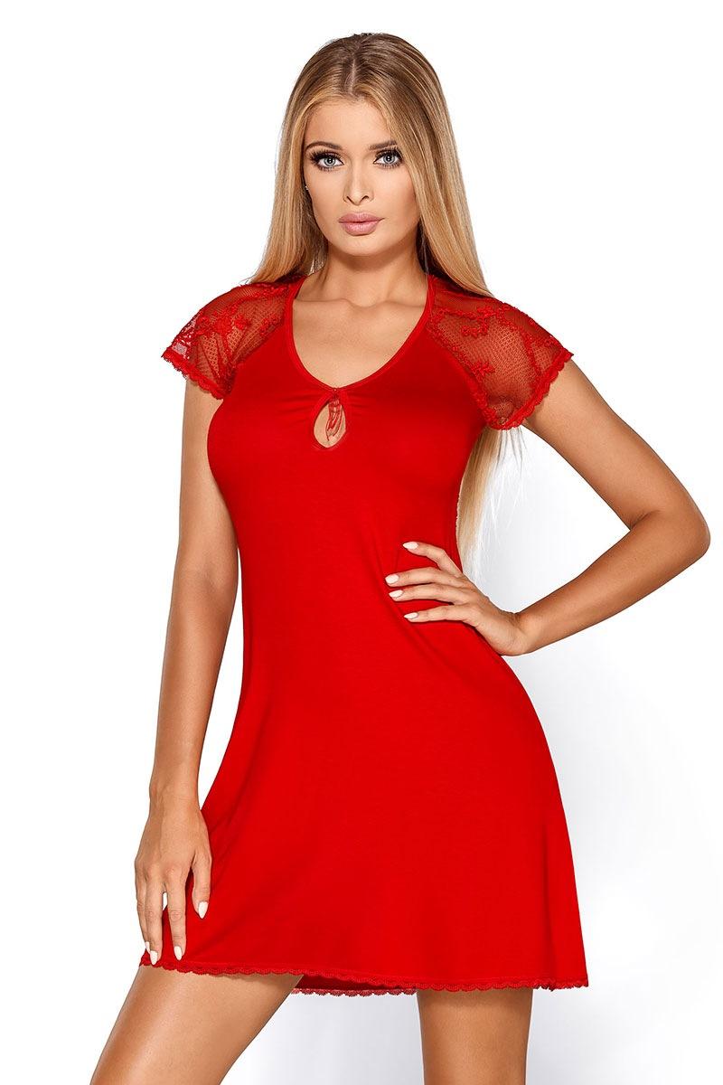 Elegancka koszulka Hillary Red - HillaryRed_kos